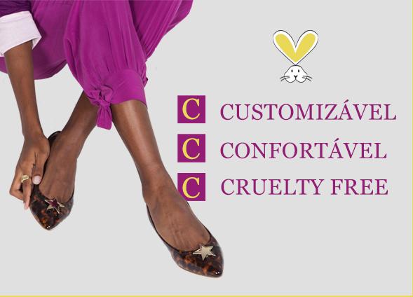 Customizavel | confortável | Cruelty Free